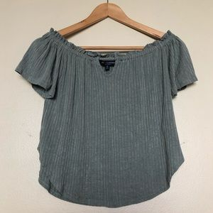 Sage Off-the-Shoulder Top, Small || One Clothing